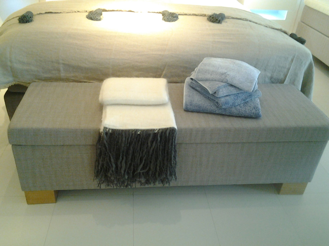 Bedkoffer Jensen Breed 150 centimeter
